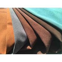 Wholesale Recycled Eco Friendly Leather Fabric With Warp Knitting Fabric Backing from china suppliers