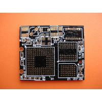 Buy cheap 0.7mm Thickness FR4 Black Quick Turn PCB with 8 Layers 0.5 - 6oz for  Industrial Control from wholesalers