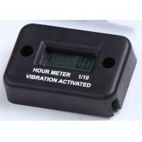 Wholesale Motorcycle Inductive Black LCD Vibration Hour Meter for Marine, Generators RL-HM016 from china suppliers