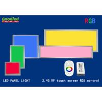 Wholesale 33W 60x60 cm RGB Dimmable LED Panel Light For Hotel, 2.4G RF Control, Flush Mount from china suppliers