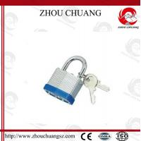 High Sercurity, CE Certificated Security  Plating Long steel Shackle Laminated Padlock