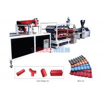 Wholesale 400 kgh Plastic Roof Sheet Roll Forming Machine High Frequency PLC Control from china suppliers