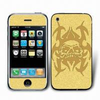 Wholesale Metallic Sticker for iPhone 3G, Easy to Apply from china suppliers