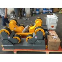 Wholesale 5000kg Self Aligning Heavy Duty Rollers , Heavy Duty Roller Stand 5 T Max Capacity from china suppliers