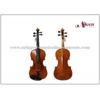 Wholesale Musical Instruments Violin Moderate With Flamed Maple Back And Side 4/4 3/4 1/2 1/4 Size Available from china suppliers