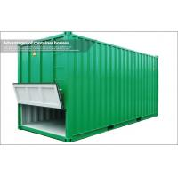 Wholesale 20Ft Prefabricated Shipping Container Housing / Shipping Crate Houses for Station from china suppliers