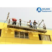 Wholesale Steel Wire Suspended Working Platform With Steel Hot Galvanized Alloy 8-10 m/min from china suppliers