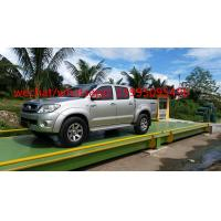 Wholesale 60 Ton Truck Scale Weighbridge 10kg Accuracy U - Shape Beams For Truck Weighting from china suppliers