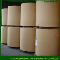 China BMPAPER High Quality Test Liner Fluting Paper For Making Craft Paper Box on sale