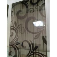 Wholesale Black Silk Tempered Pvb Laminated Art Glass Flat Panel 8mm For Home from china suppliers