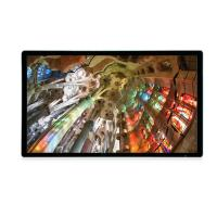Wholesale Metal edge hd 49 inch LCD Advertising Player full HD retail transparent Samsung LCD display from china suppliers