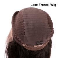 Quality Brazilian Virgin Body Wave Full / Front Lace Wig with Baby Hair For Black Women for sale