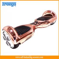 Wholesale Intelligent 6.5 Inch Self Balancing Scooter With Electroplating from china suppliers