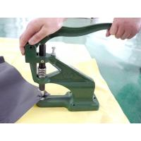 Wholesale Green Manual eyelet machine / grommet machine for PVC  fabric from china suppliers