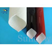 Wholesale High temperature 2mm Silicon Fiber Glass Insulated Tube UL 4000V VW - 1 from china suppliers