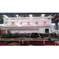 Buy cheap best price animal feed tank mounted on cargo truck for sale, factory direct sale farm-oriented feed pellet tank truck from wholesalers
