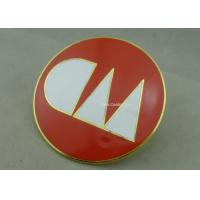 Wholesale Gold Plating Zinc Alloy Pin Badge Custom Cloisonne Hard Enamel Metal Name Badges from china suppliers
