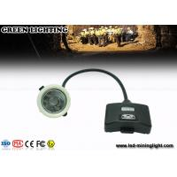 Wholesale GS5- B 8000 Lux / 5.6ah Led Mining Cap Lights , IP68 Miners Head Torch Drop Resistance from china suppliers