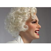 Quality Silicone Hollywood Wax Museum Figures / Film Star Marilyn Monroe Wax Figure for sale