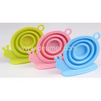 Wholesale New Promotional Silicone Tea Infuser/Snail Shape Silicone Tea Strainer Tea Bag Holder from china suppliers