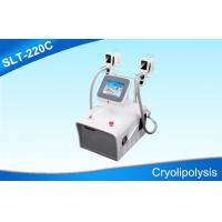 Wholesale Double Handles Cryolipolysis Slimming Machine For Body Sculpting / Fat Removal from china suppliers