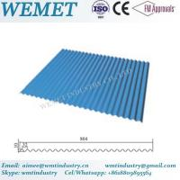 Wholesale Corrugated steel sheet for steel structure building facade WMT-10-32-864 from china suppliers