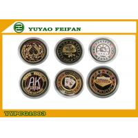 Wholesale Personalized Casino Metal Poker Chips 40g Las Vegas Poker Chips from china suppliers