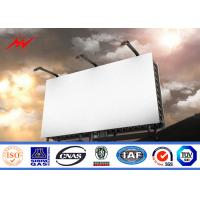 Wholesale High Bright Steel Outdoor Billboard Advertising Structure Full Color Outside LED Billboard from china suppliers
