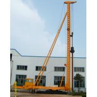 Wholesale DCB60-15 Hydraulic Walking Compaction Hammer Pile Driver with Steel Sunken Tube from china suppliers