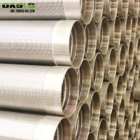 Wholesale Stainless steel johnson screens/wire wrap screen/wedge wire screen pipe supplier from china suppliers