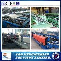 Wholesale Cable Tray Ladder Making Cold Roll Forming Machine, Cable Tray Making Machine 1 ~ 3mm Thick from china suppliers