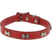 Wholesale Kakadu Pet Give a Dog a Bone Leather Dog Collar from china suppliers