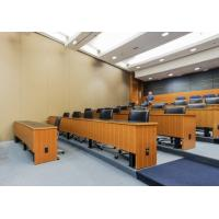 Wholesale Wooden Surface Sound Proof Partitions For Office With Top Hung System from china suppliers