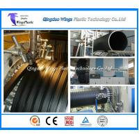 Wholesale 3000mm HDPE Hollow Wall Winding Profile Pipe Production Line Factory from china suppliers