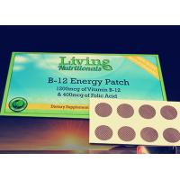 Wholesale B12 vitamin patch, energy patch, D3 patch, B complex patch from china suppliers