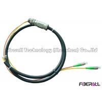 Wholesale Waterproof Rugged Optical Fiber Pigtail With PE Jacket For Outdoor 2 To 12 Fibers from china suppliers