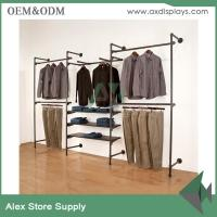 Wholesale Fashion retail display metal hanging store fixture retail fixture display showcase from china suppliers