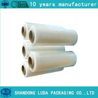 Wholesale LLDPE stretch film pallet wrap plastic packaging film hand roll filme stretch from china suppliers