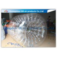 Wholesale PVC Transparent Inflatable Rolling Ball , Funny Huge Inflatable Walk On Water Ball from china suppliers
