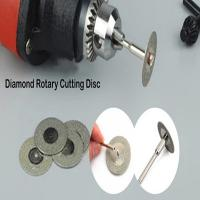 Wholesale Diamond Rotary Cutting Disc For Cutting Gemstone , Glass, Stone lucy.wu@moresuperhard.com from china suppliers