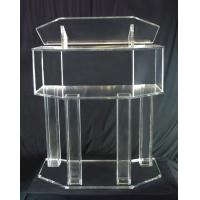 Wholesale Morden Design Acrylic Lectern,Lucite Chruch Podium,Transparent Corss Pulpit from china suppliers