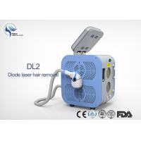 Wholesale Permanent 808nm Diode Laser Hair Removal Machine / Body Hair Removing Machine from china suppliers