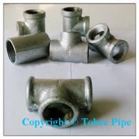 Wholesale Malleable Iron pipe fittings female tee from china suppliers