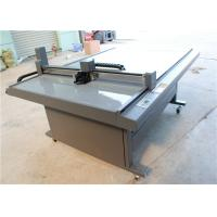 Wholesale CNC Oscillating Knife Cloth Cutting Machines , fabric sample cutter from china suppliers