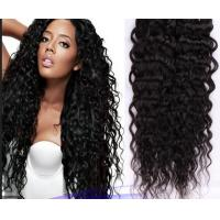 Wholesale No Shedding Virgin Brazilian Hair Extensions Black Body Wavy Hair Weave from china suppliers