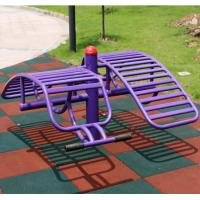 China Colorful Playground Rubber Mats / Rubber Gym Floor Mats /Outdoor Rubber Tiles 50*50*5CM on sale
