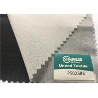 Wholesale Polyester Plain Weave Woven Interlining , Fusible Interlining Fabric For Front Fuse from china suppliers