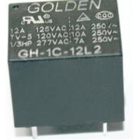 Wholesale GH 12A 12V Household Appliance Relay , Golden High Power Relay from china suppliers