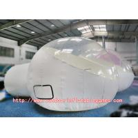 Wholesale Round Inflatable Bubble Room Dome Tent Clear 210D Coated Nylon Cover from china suppliers