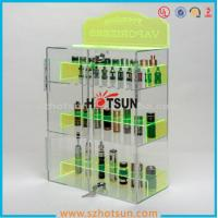 Wholesale clear acrylic e-cigarette display stand /e-liquid display case / e liquid bottle display from china suppliers